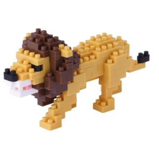 Nanoblock Mini Collection Lion (NBC-170) | LeVida Toys