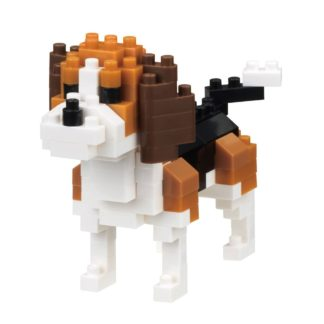 Nanoblock Mini Collection Beagle (NBC-253) | LeVida Toys