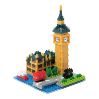 Nanoblock Sights to See - Big Ben (NBH-193) | LeVida Toys