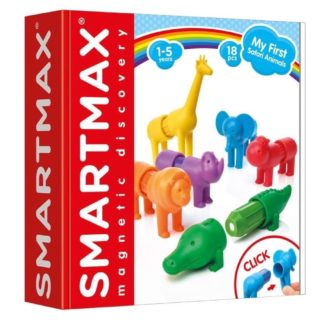 SmartMax My First Safari Animals Magnetic Play Set | LeVida Toys
