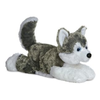 Aurora Flopsies: Husky Shadow 12 Inch | LeVida Toys