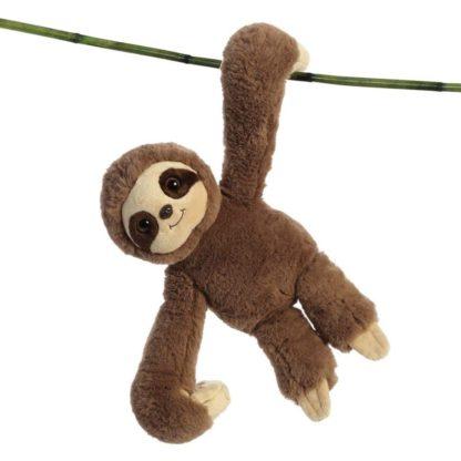 Aurora Hang n Swing Sloth 13 Inch soft toy | LeVida Toys