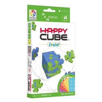 Smart Games Happy Cube Junior 2D + 3D Puzzle   LeVida Toys