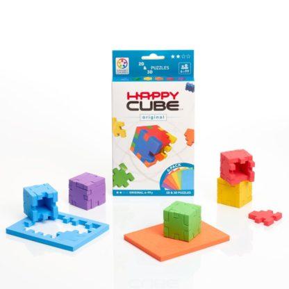 Smart Games Happy Cube Original 2D + 3D Puzzle | LeVida Toys