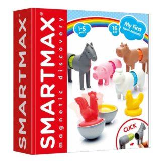 Smartmax My First Farm Animals Magnetic Play Set   LeVida Toys