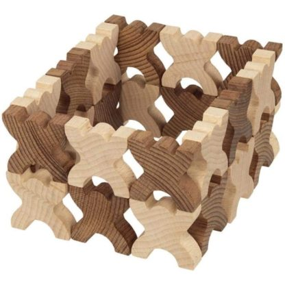 Goki Nature: Xmanis Stacking Men (58717) | LeVida Toys