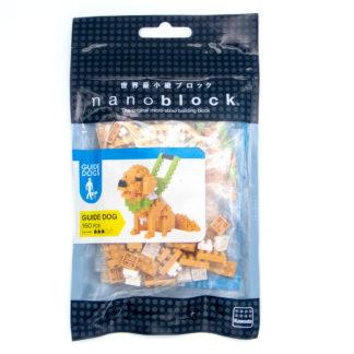 Nanoblock Guide Dog (NBC-177) - nanoblock mini collection | LeVida Toys