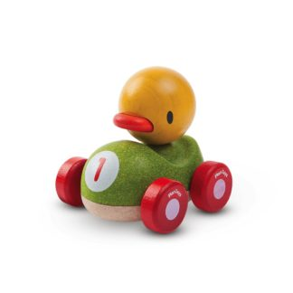 Plan Toys Duck Racer wooden push along car | LeVida Toys