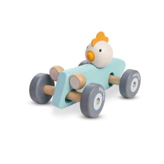 Plan Toys Chicken Racing Car (5716) | LeVida Toys