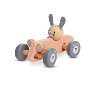 Plan Toys Bunny Racing Car (5717) | LeVida Toys