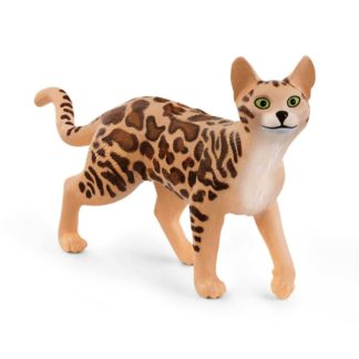Schleich Farm World - Bengal Cat (13918) | LeVida Toys