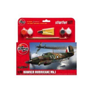 Hawker Hurricane Mk.I - Airfix Starter Set | LeVida Toys