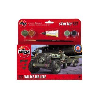 Willys MB Jeep - Airfix Starter Set | LeVida Toys