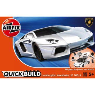 Lamborghini Aventador white - Airfix Quickbuild Set | LeVida Toys