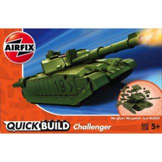 Challenger Tank Green - Airfix Quickbuild Set | LeVida Toys