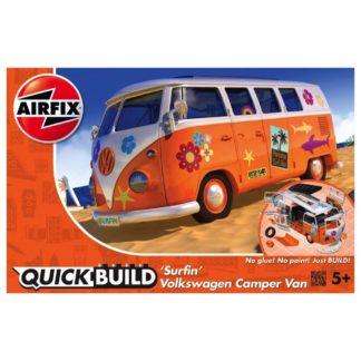 VW Camper Van 'Surfin' - Airfix Quickbuild Set | LeVida Toys