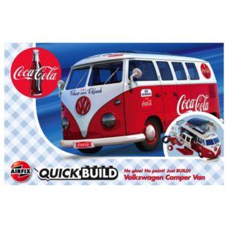 Coca Cola VW Camper Van - Airfix Quickbuild Set | LeVida Toys