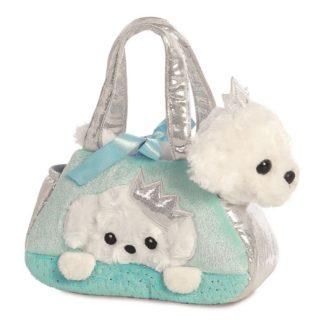 Fancy Pal Peek-A-Boo Princess Puppy Pet Carrier | LeVida Toys