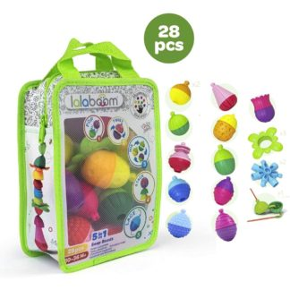 Lalaboom 5 in 1 Snap Beads and accessories | LeVida Toys