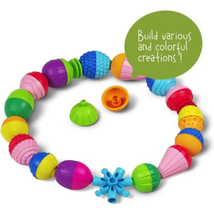 Lalaboom Bag of Beads And Accessories (36 Pieces) | LeVida Toys