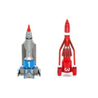 Corgi die-cast Thunderbirds TB1 & TB3 models   LeVida Toys