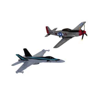 Top Gun Maverick Double Pack F/A-18 Hornet & P-51D Mustang