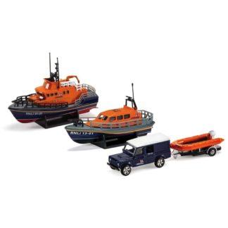 Corgi RNLI Gift Set: Shannon Lifeboat, Severn Lifeboat... | LeVida Toys