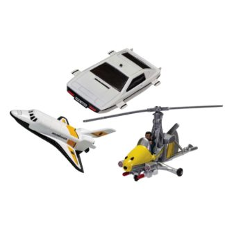 James Bond Air, Sea & Space Collection   LeVida Toys