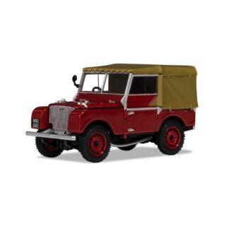 "Corgi Land Rover Series 1 80"" Poppy Red | LeVida Toys"