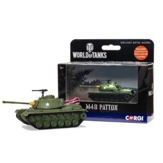Corgi World of Tanks - M48 Patton Tank model | LeVida Toys