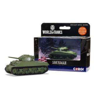 Corgi World of Tanks - Sherman M4 A3 | LeVida Toys