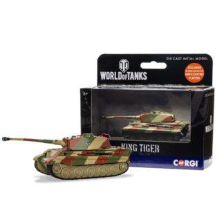 Corgi World of Tanks - King Tiger Tank model | LeVida Toys
