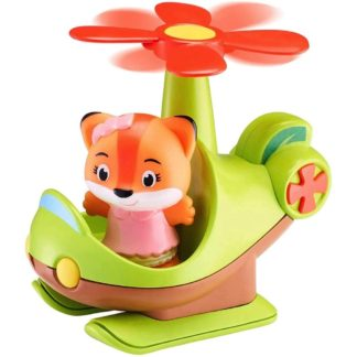 Timber Tots Helicopter with Timber Tot figure | LeVida Toys