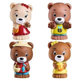 Timber Tots PawPaw Family of four figures | LeVida Toys
