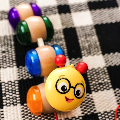 Hape Baby Einstein Inch Along Cal Pull Along Toy   LeVida Toys