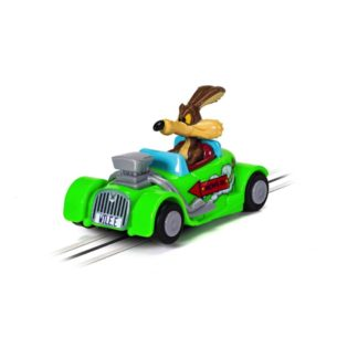 Micro Scalextric - Looney Tunes Wile E. Coyote car