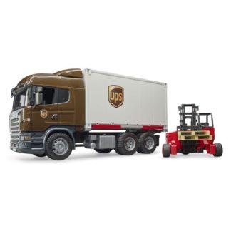 Bruder Scania R-Series UPS Logistics Truck (03581) | LeVida Toys