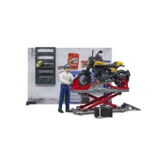 Bruder bWorld Motorcycle Service (62102) | LeVida Toys