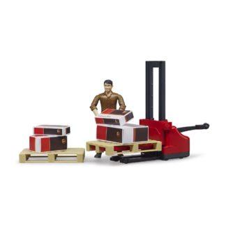 Bruder UPS Logistics Set (62210) | LeVida Toys