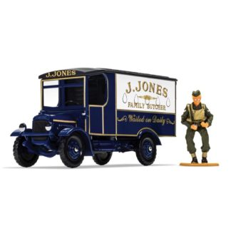 Dads Army TV Series - J. Jones Thornycroft Van and Mr Jones