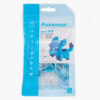 Glaceon - Nanoblock Pokemon (NBPM-072) | LeVida Toys