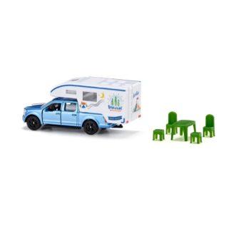 Siku Ford F150 Pick-Up Camper Miniature Die Cast | LeVida Toys