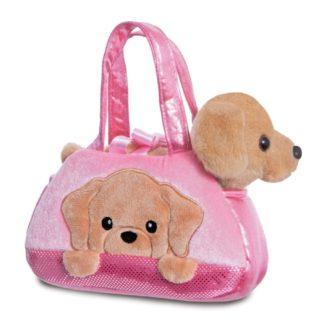 Aurora Fancy Pal: Peek-a-Boo Labrador Dog | LeVida Toys
