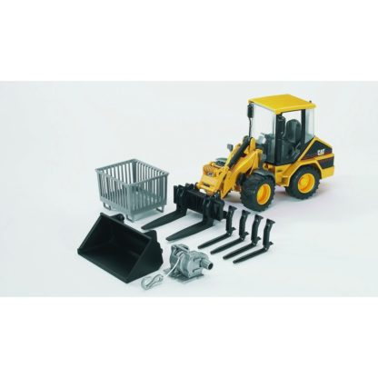 Bruder Caterpillar Wheel Loader - 02441   LeVida Toys