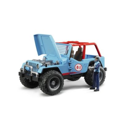 Bruder Jeep Cross Country Racer Blue with Driver | LeVida Toys