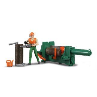 Bruder Forrestry Set - Model Number 62650 | LeVida Toys