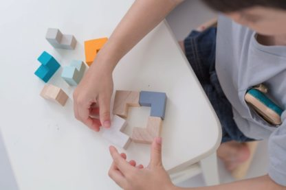 Plan Toys 3D Puzzle Cube   LeVida Toys