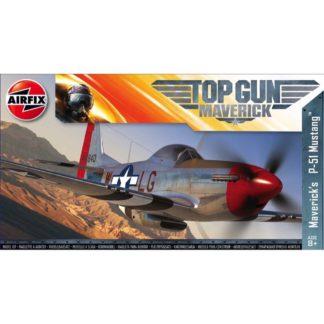 Top Gun Maverick's P-51D Mustang - Airfix Model Kit | LeVida Toys
