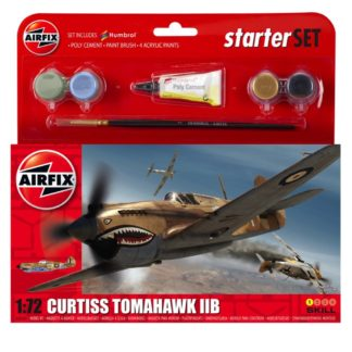 Curtiss Tomahawk IIB - Airfix Small Starter Set | LeVida Toys