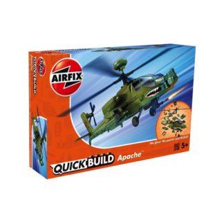 Apache Helicopter - Airfix Quickbuild Set | LeVida Toys